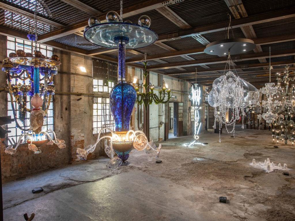 lampadari vetro murano