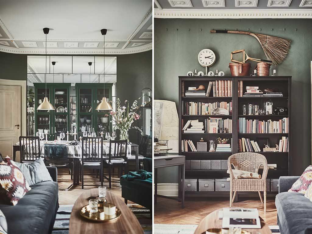vetrina e libreria