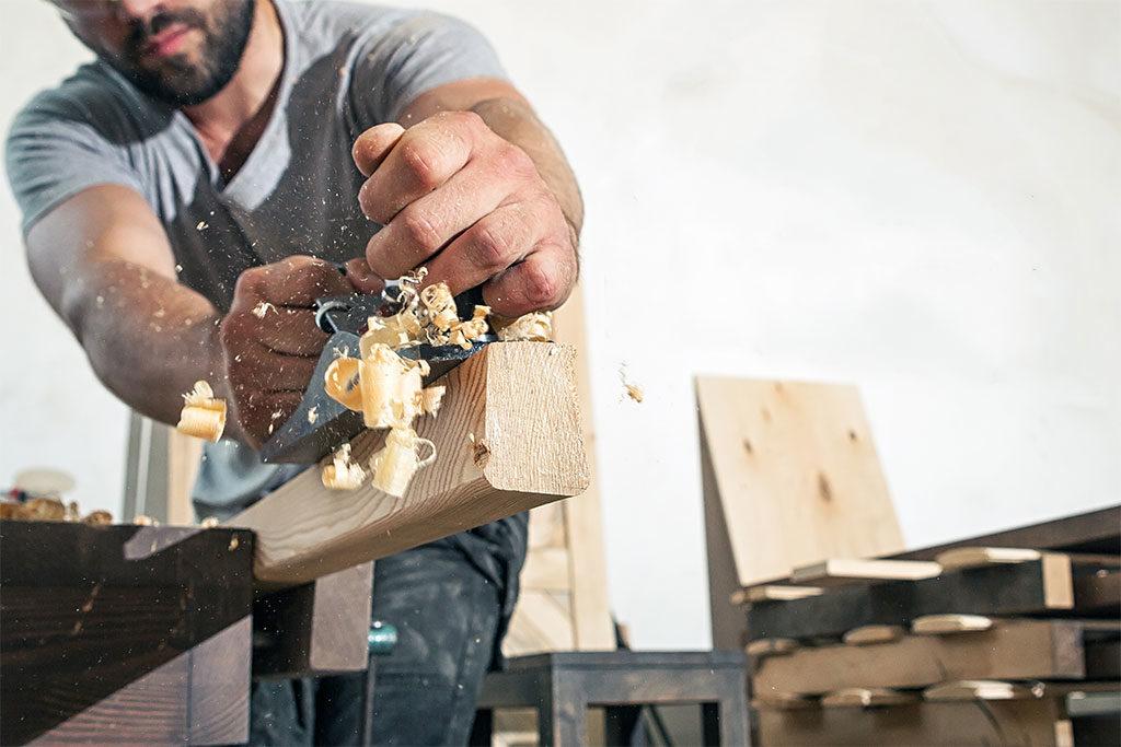 piallare a mano legno