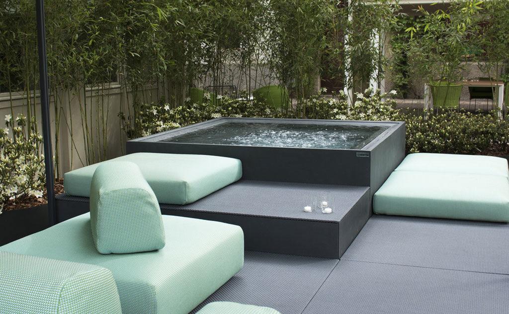 piscinetta vasca idromassaggio