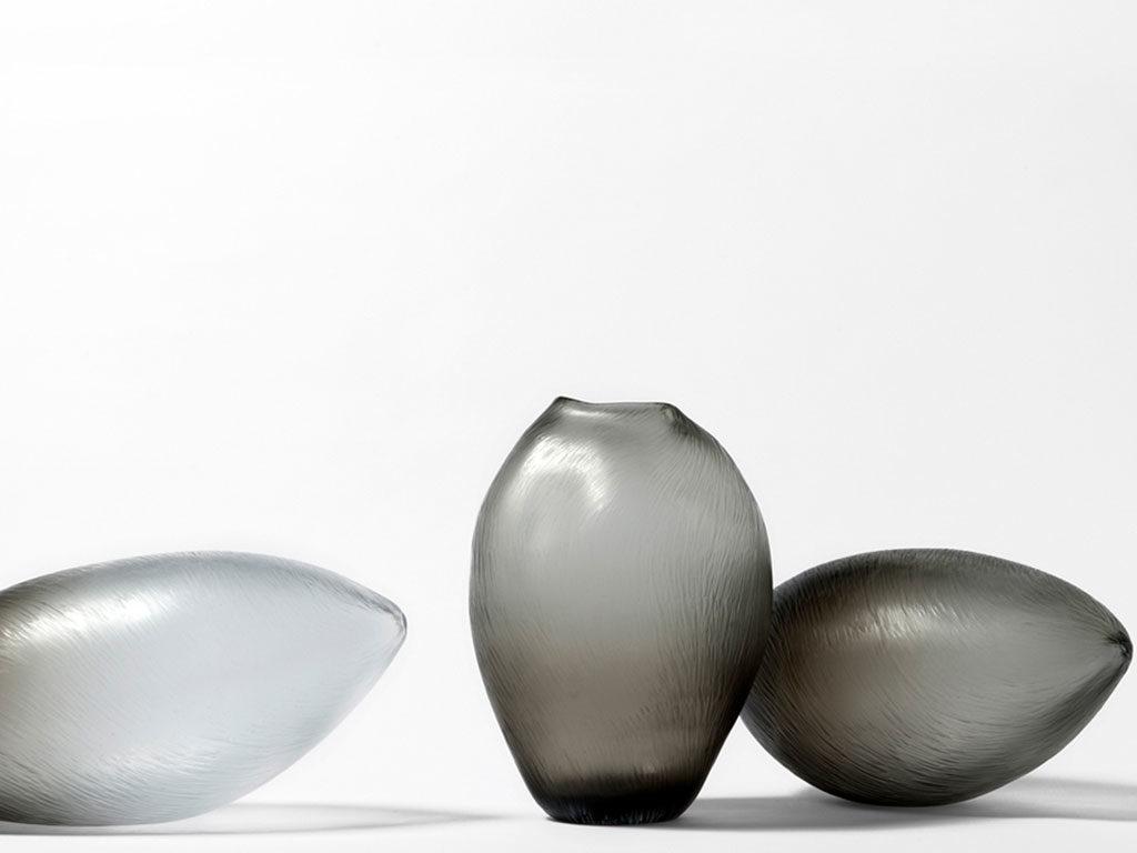vasi vetro chiaro scuro