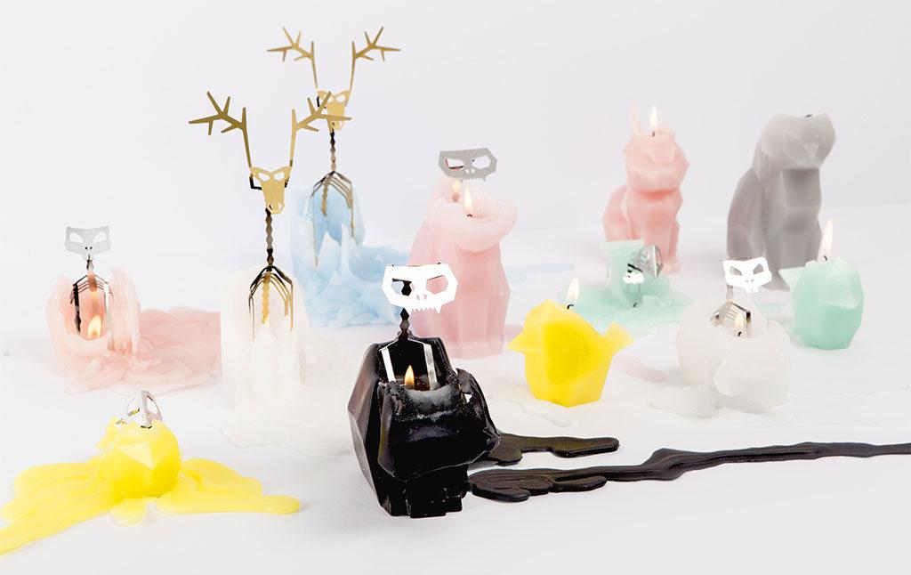 candela animale scheletro