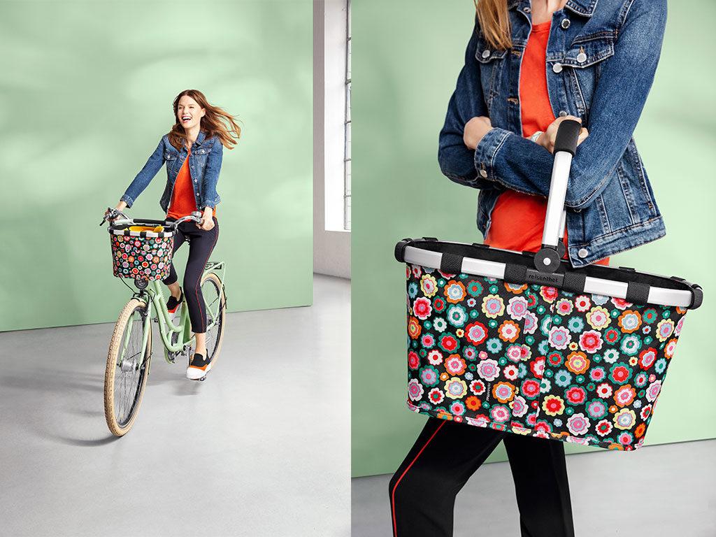 cestino spesa bici