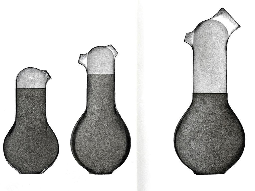 disegni a mano vaso brocca