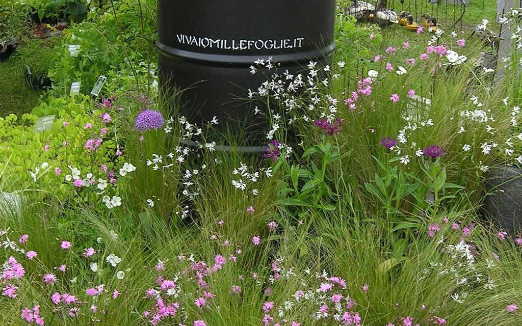 fusto metallo nero campo fiori