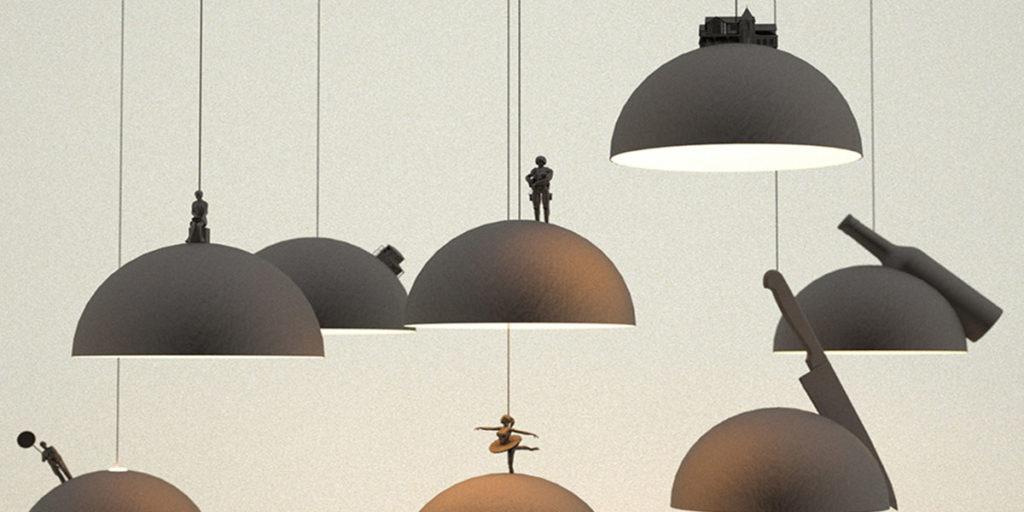 lampade sospensione cupola