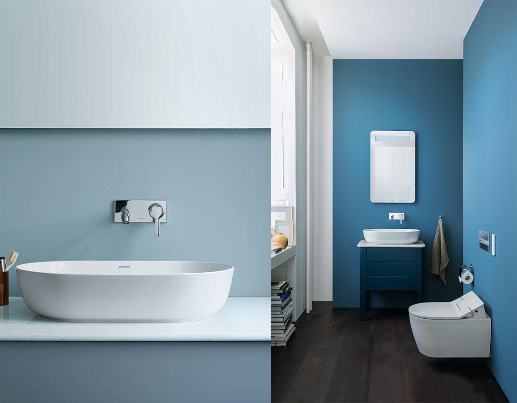 lavabo appoggio e wc automatico