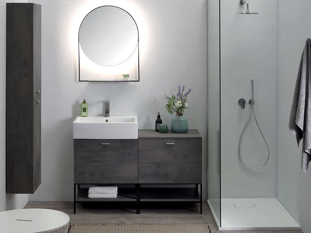 lavabo appoggio rettangolare
