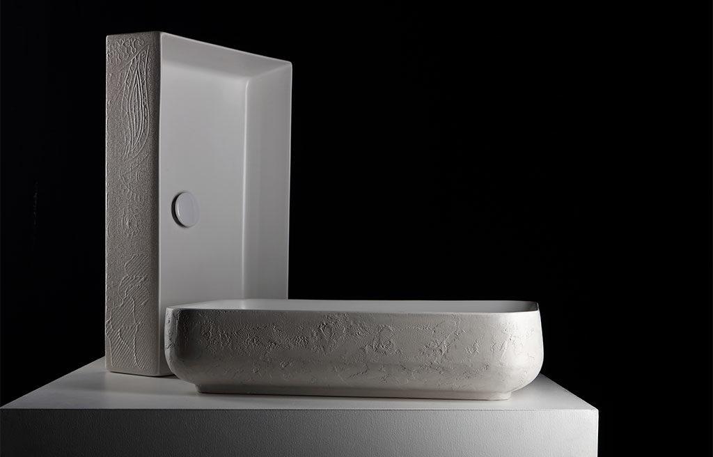 lavabo effetto macramè