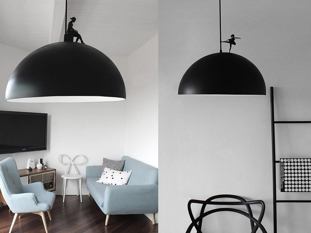 lampade sospensione nere