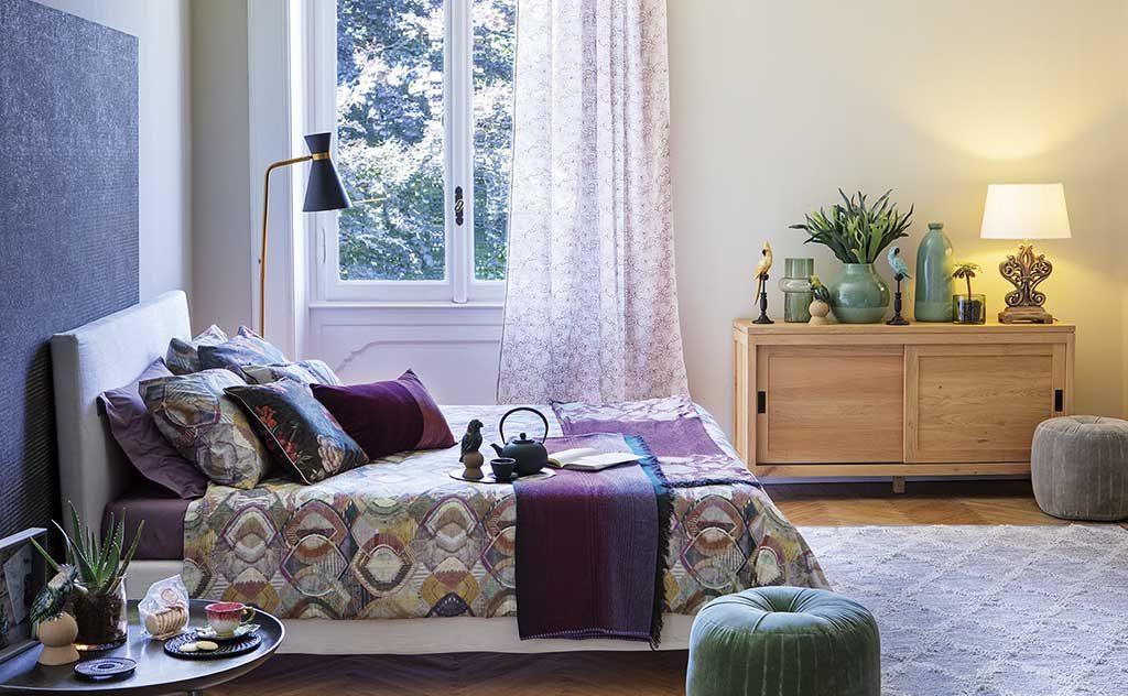 camera da letto arredo colore