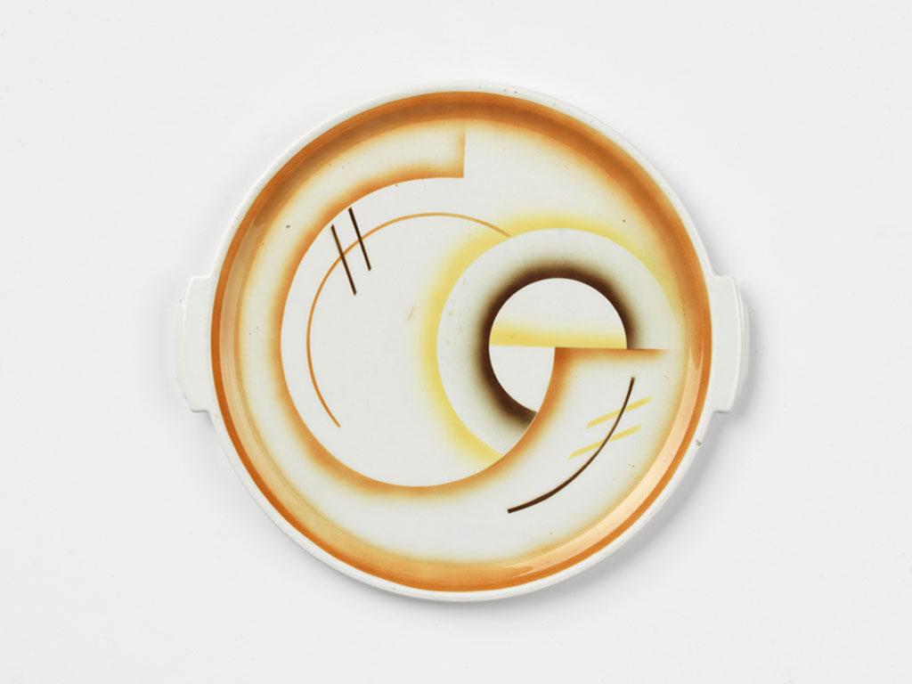 vassoio ceramica weimar