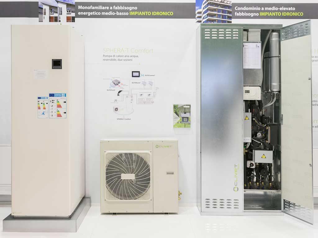 impianto pompa calore