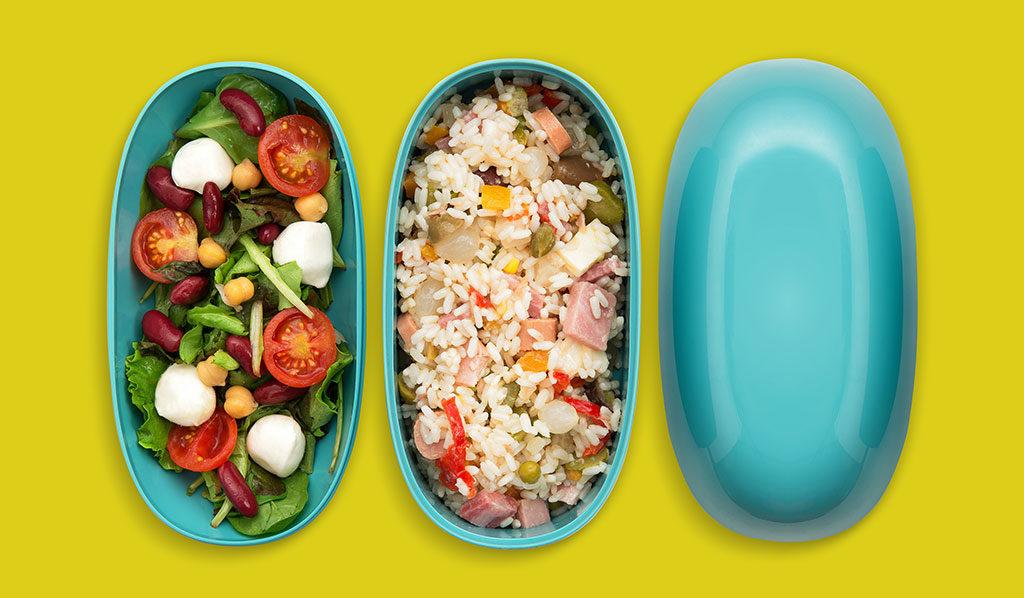 scomparti porta pranzo