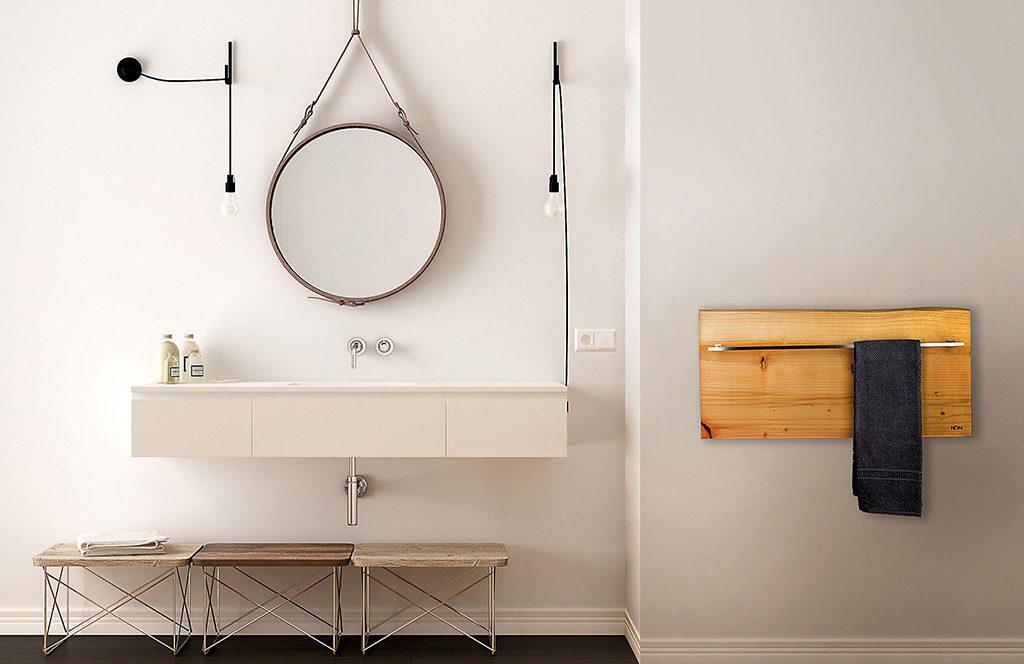 radiatore legno bagno