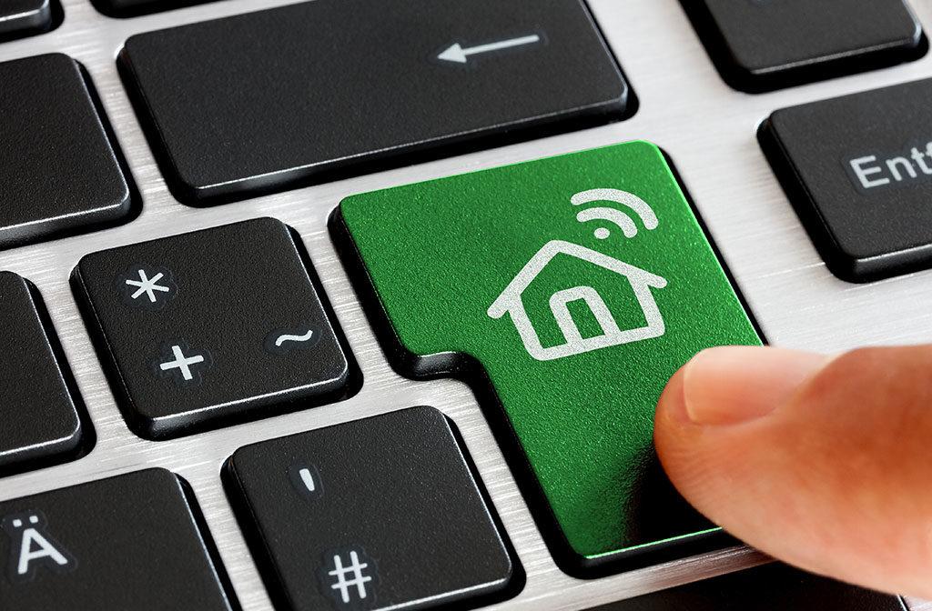tasto verde smart home