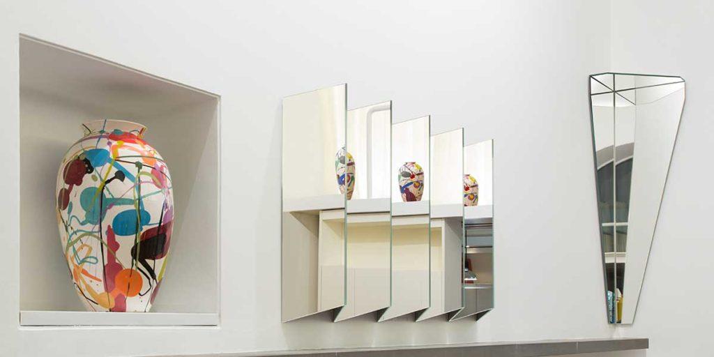 specchio a parete riflessi
