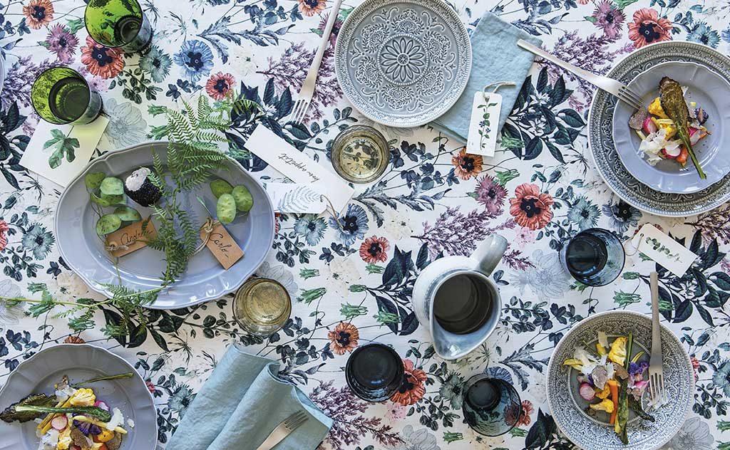 tableware floreale