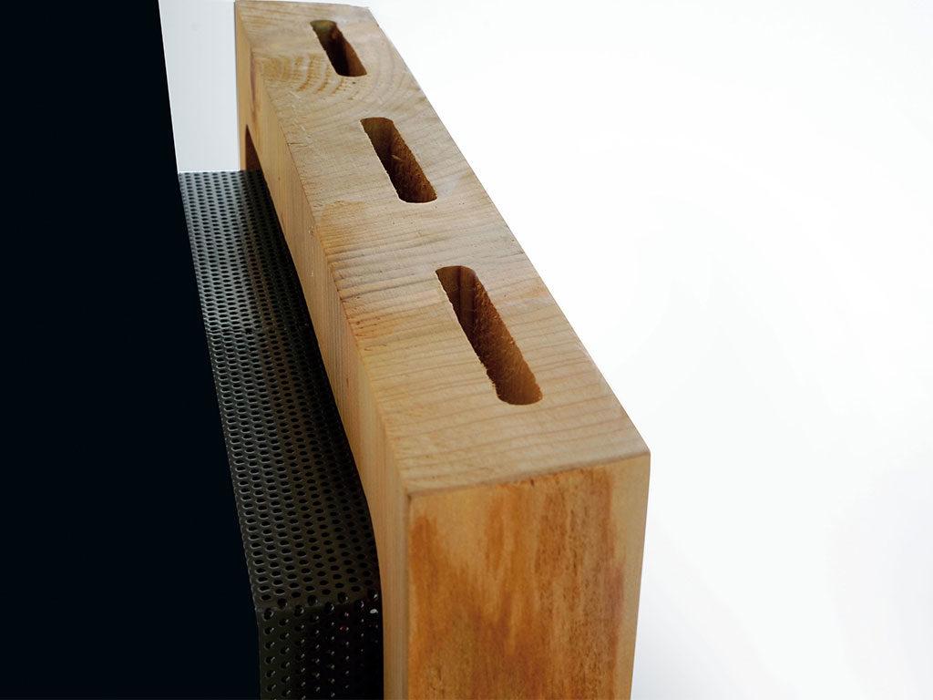 radiatore in legno