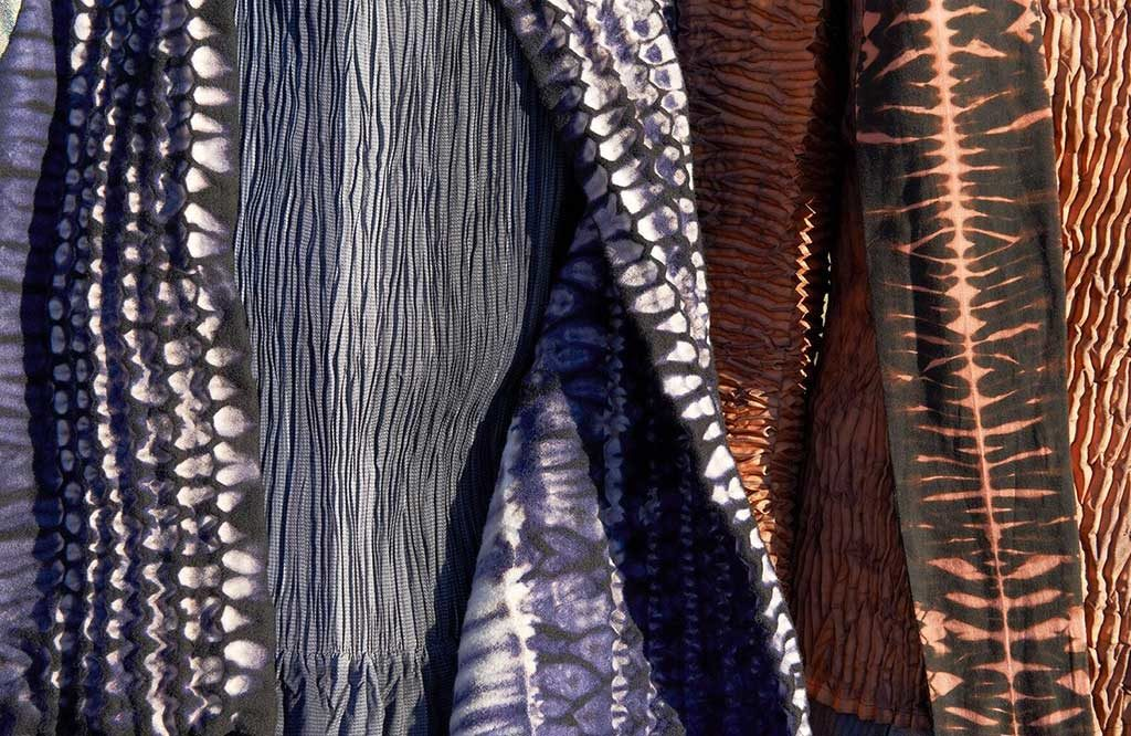 tessuti colorati artigianali