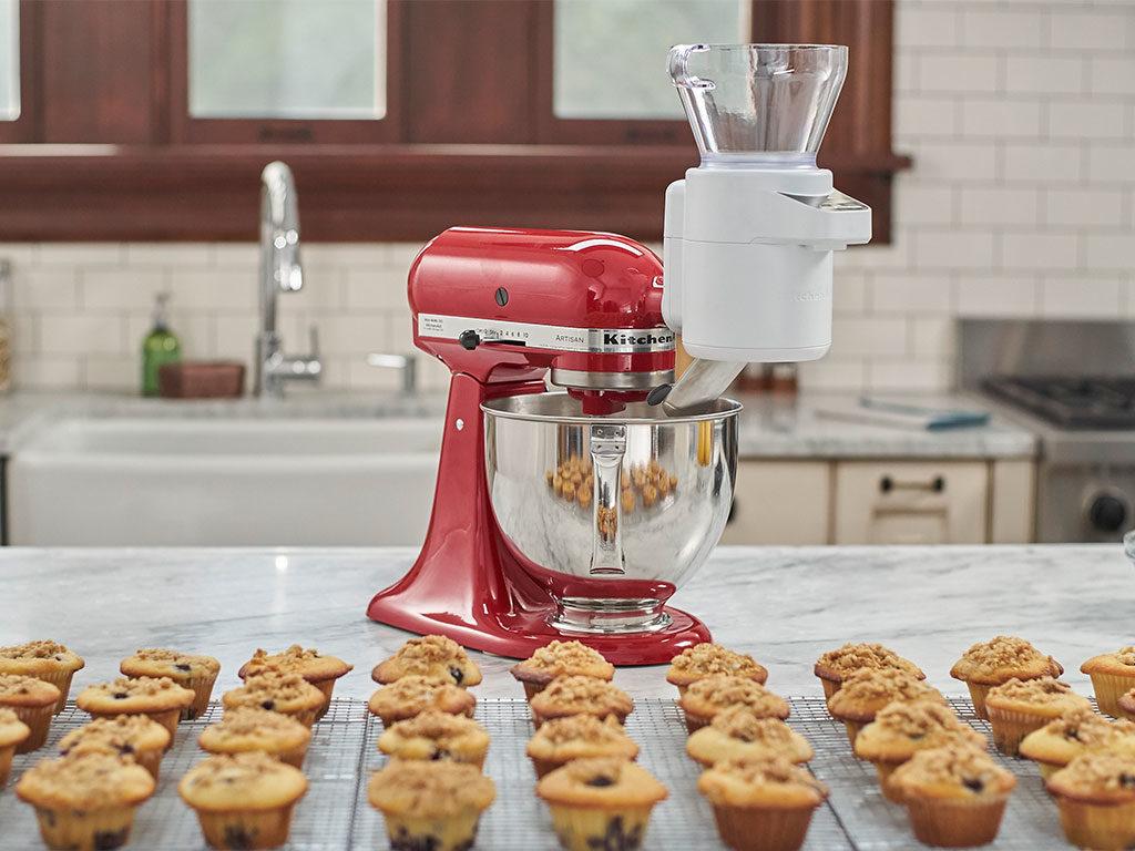 bilancia e setaccio robot cucina