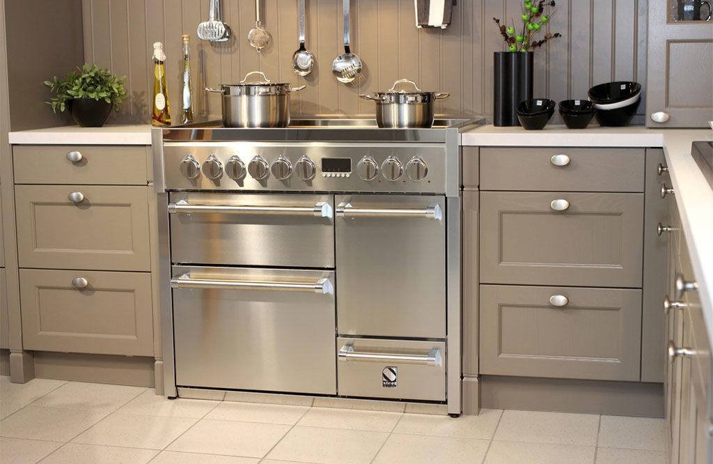 cucina acciaio doppio forno inox