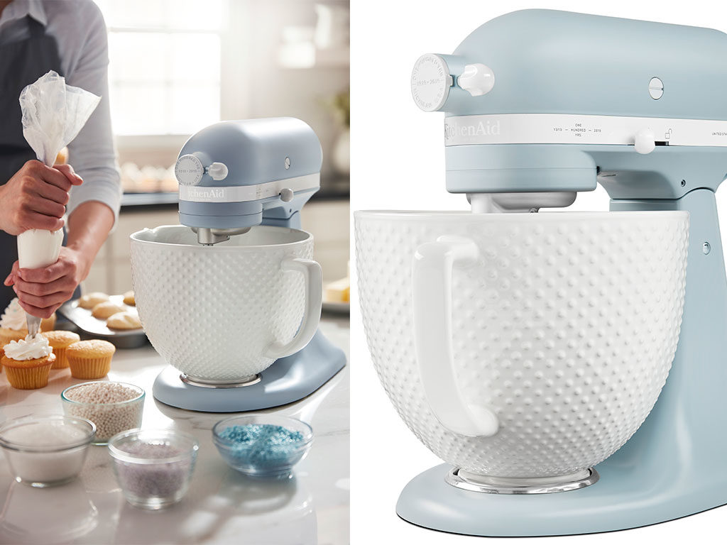 robot cucina colore pastello