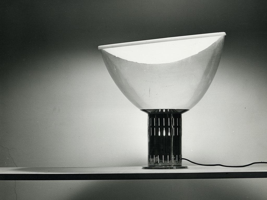 lampada taccia castiglioni