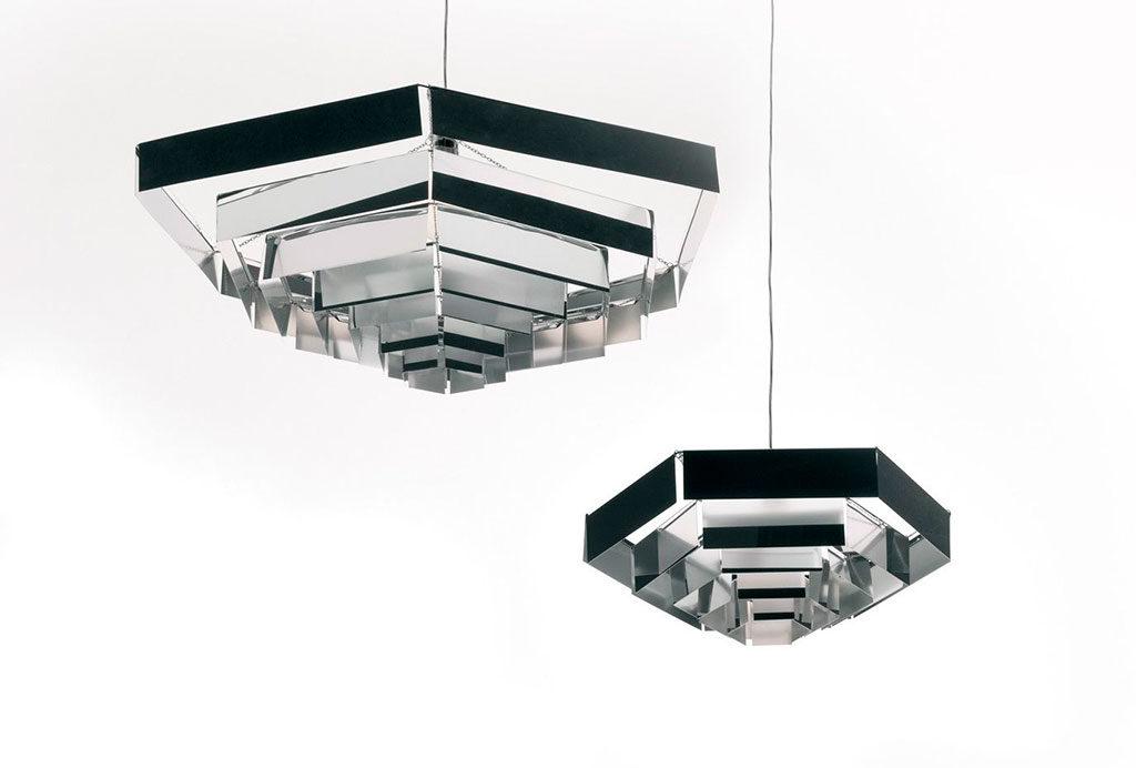 lampade sospese metallo munari
