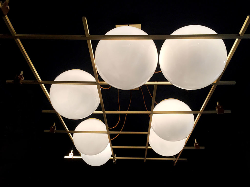 lampade sospese sfere