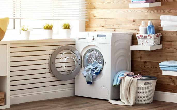 lavatrice casa lavanderia aperta