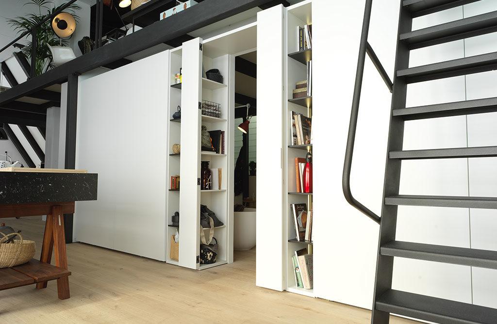modulare parete separatore aperto