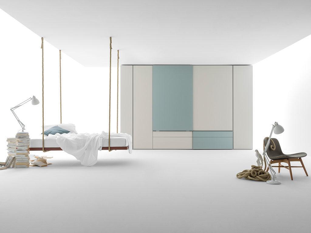 sistema modulare camera letto