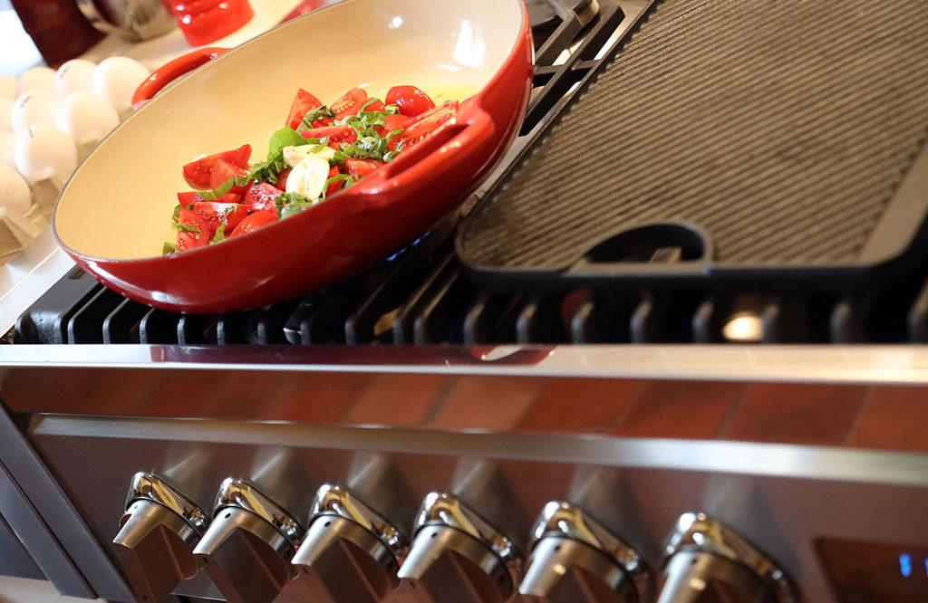 piano cucina griglie ghisa