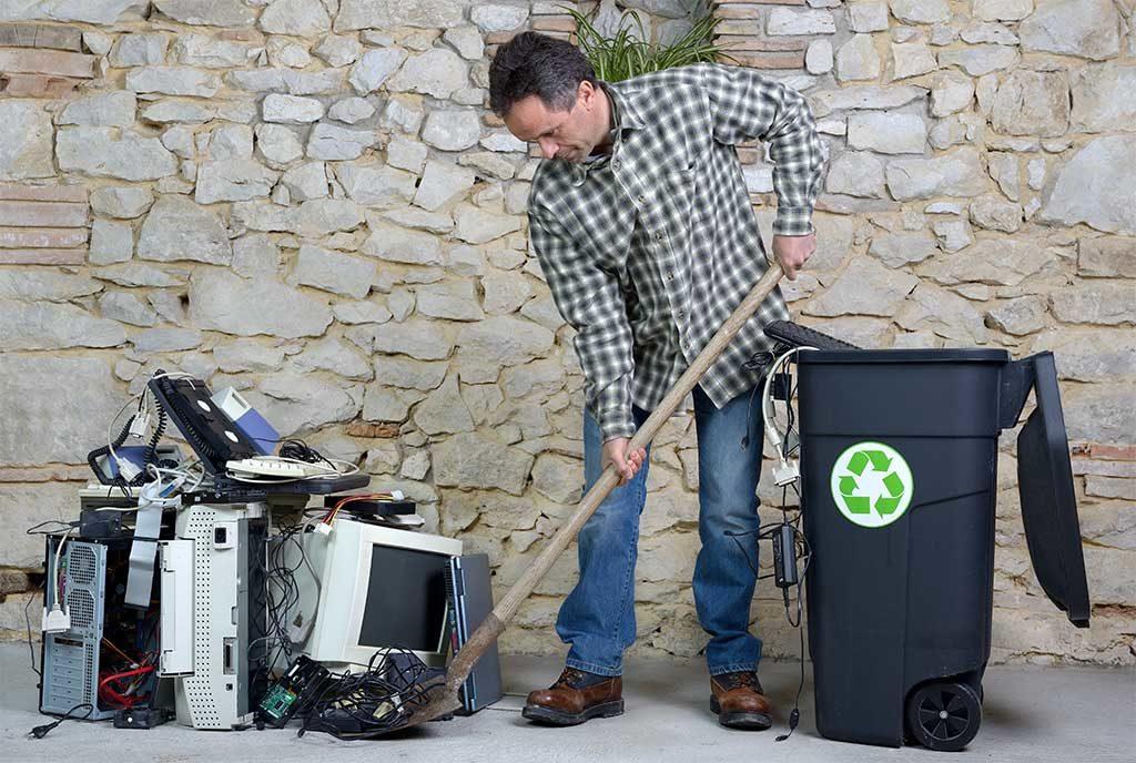 rifiuti elettronici raccolta