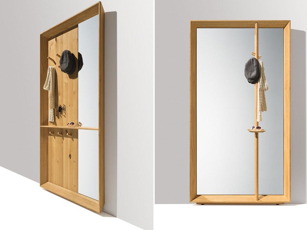 specchio pannello ingresso casa