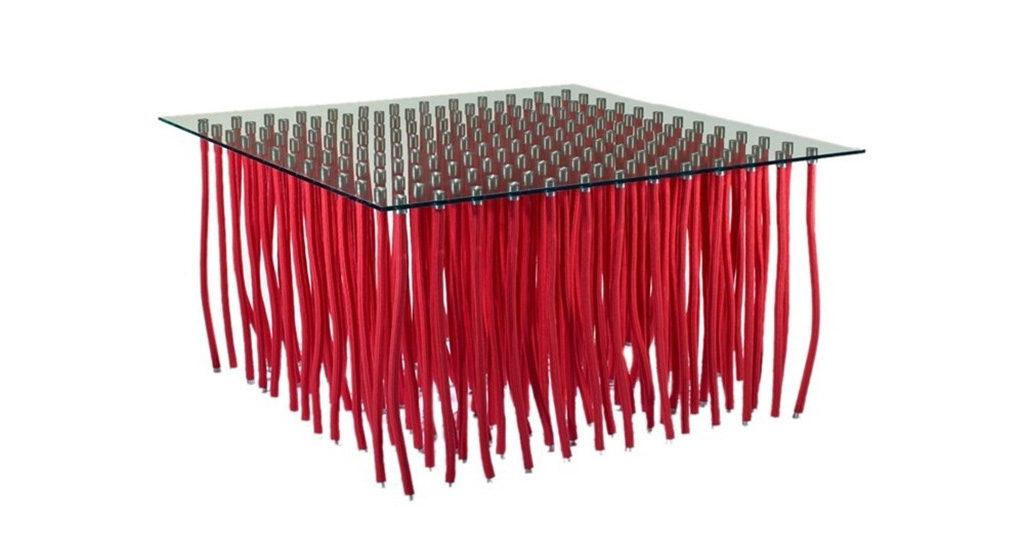 tavolino org piano vetro