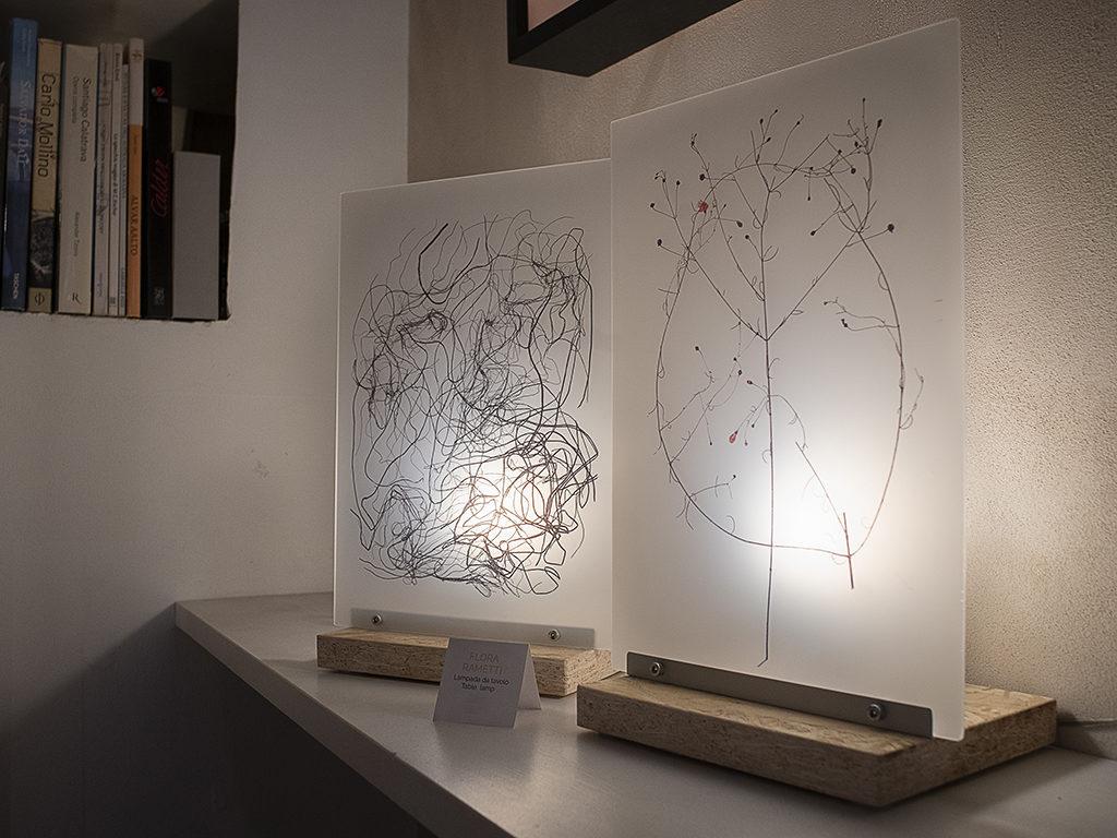 lampade plexiglass e legno