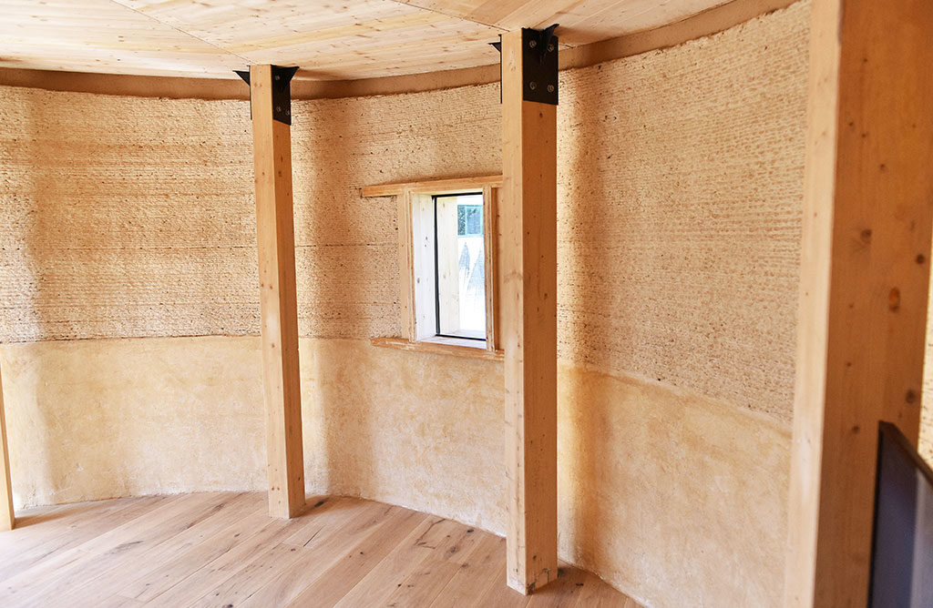 interno casa legno 3d