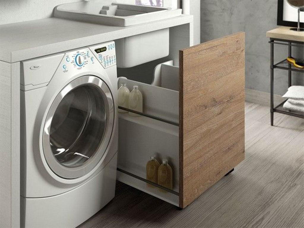 mobile coprilavatrice e lavatoio