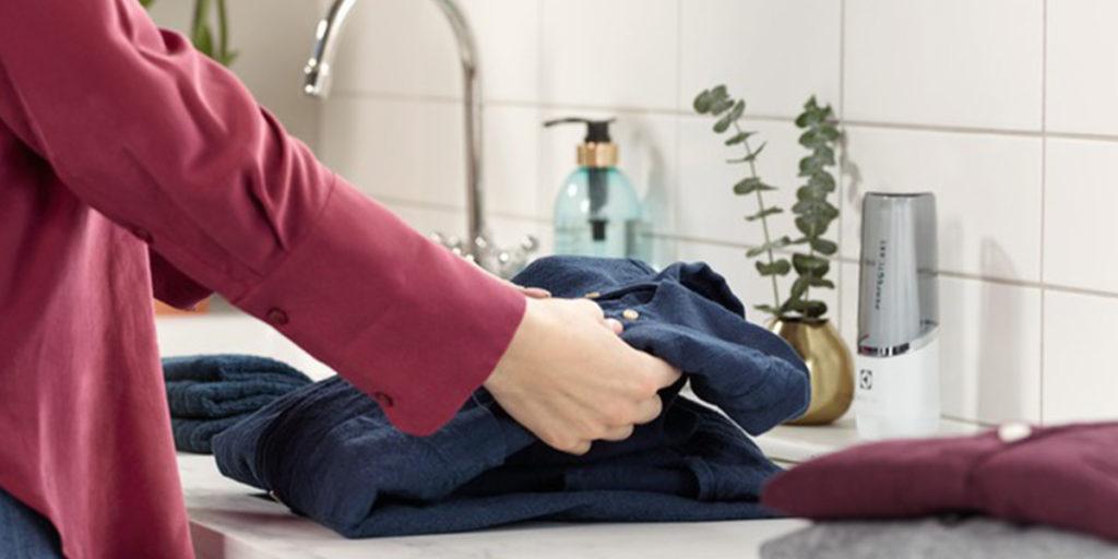 camicia macchia prima del bucato