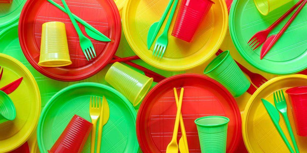 plastica monouso piatti bicchieri