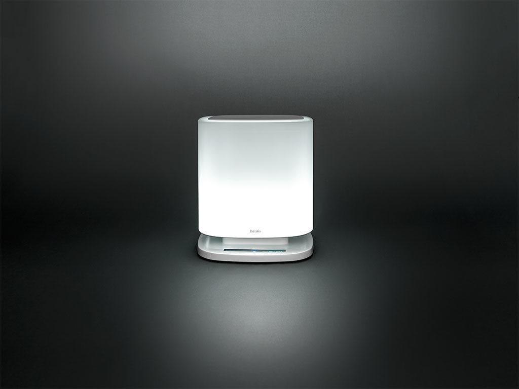purificatore aria e lampada led