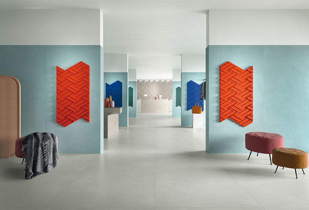 rivestimenti 3d colore parete