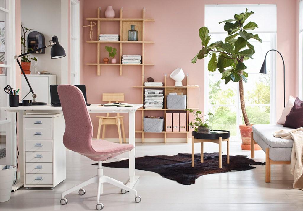 scrivania bianca regolabile altezza