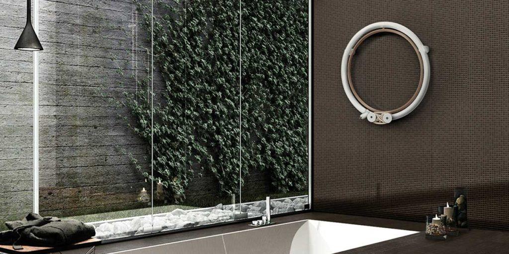 termoarredo bagno elettrico parete