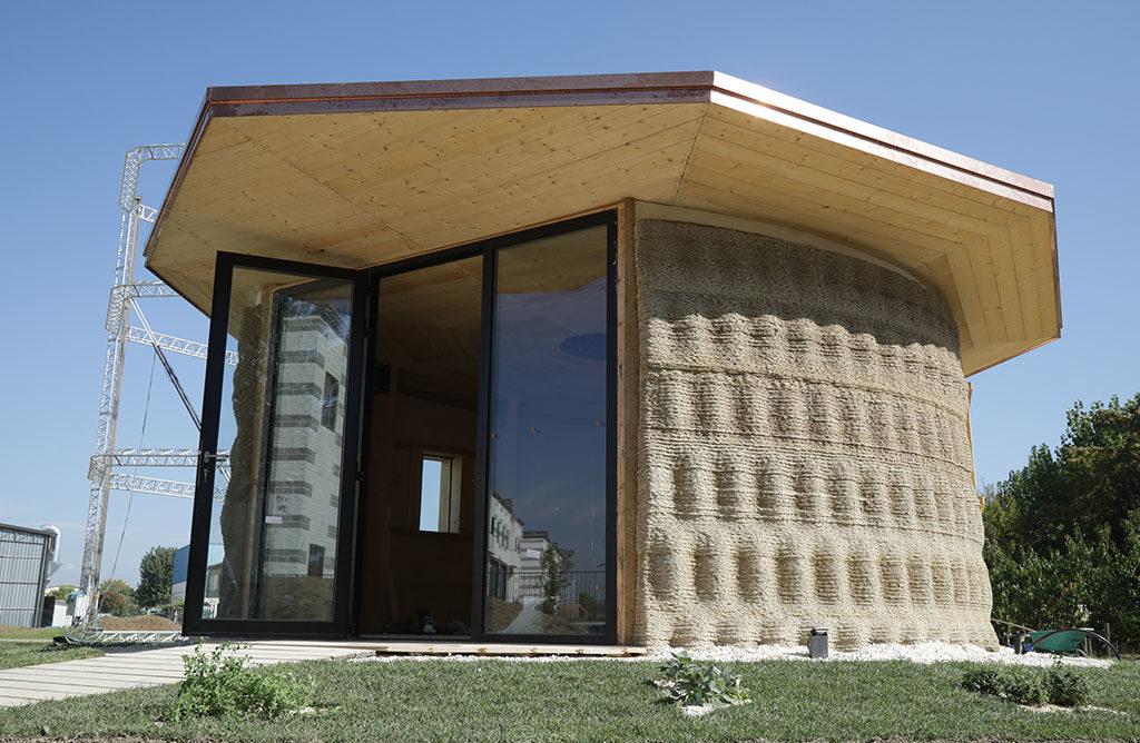 vetrata casa 3d