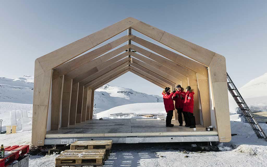 casa modulare impatto zero groenlandia