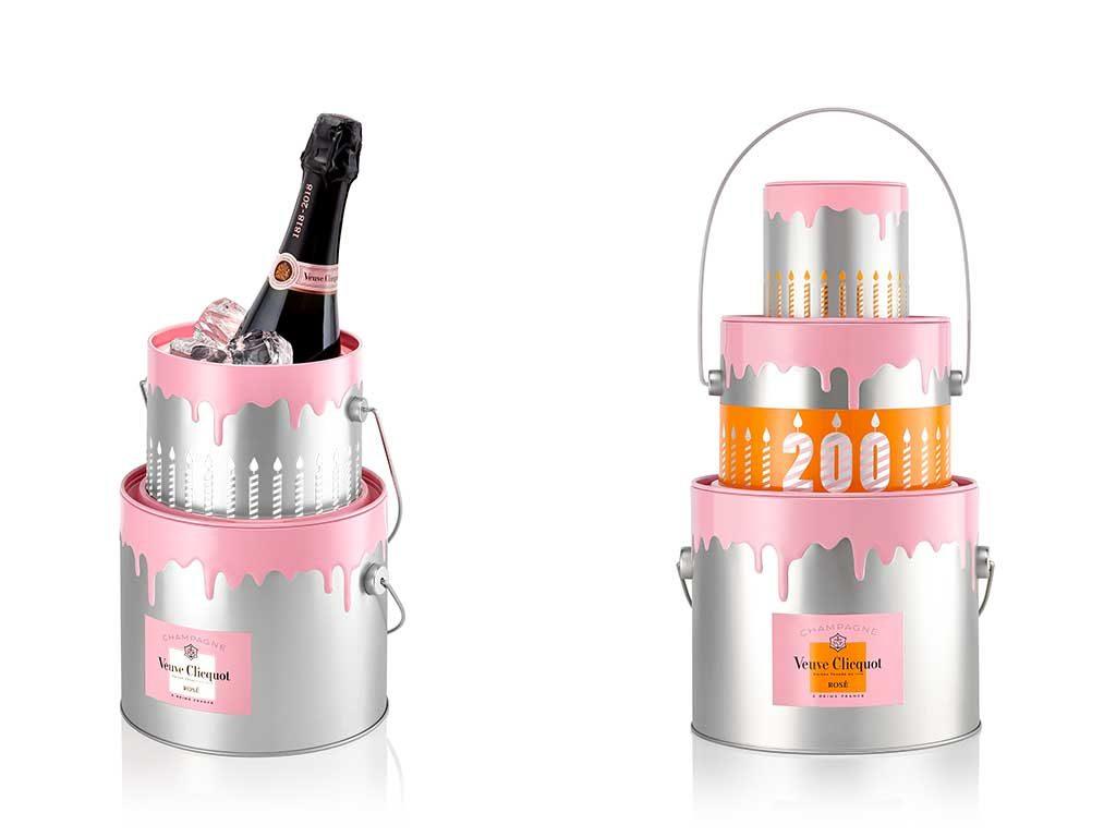 champagne clicquot cake new