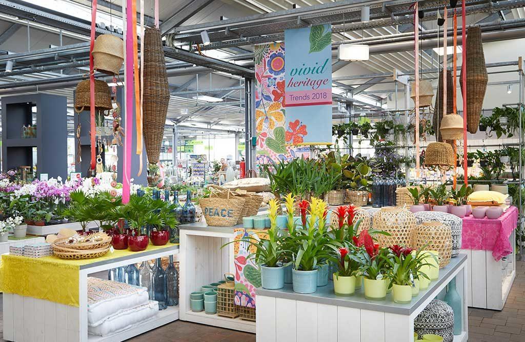 stand floradecora di messe frankfurt
